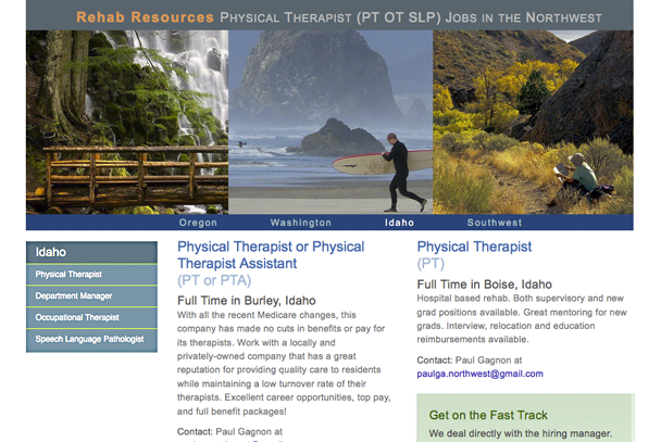 Physical Therapy Jobs